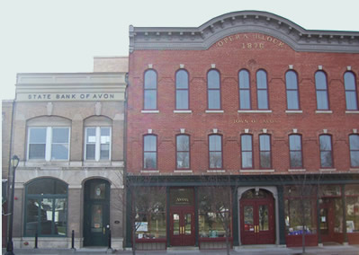 Town of Avon Opera Block Building