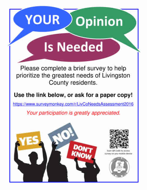 Your opinion is needed ... Click here to complete the survey